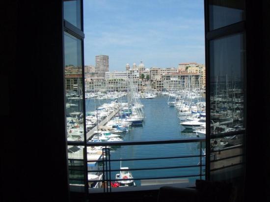 Radisson Blu Hotel, Marseille Vieux Port: Wonderful view from the room