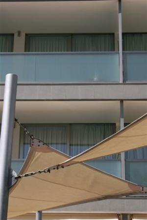 Aimia Hotel: From the pool area