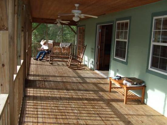 Silver Springs, Floryda: View of Porch