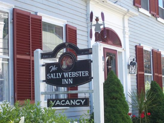 Front Door of the Sally Webster Inn