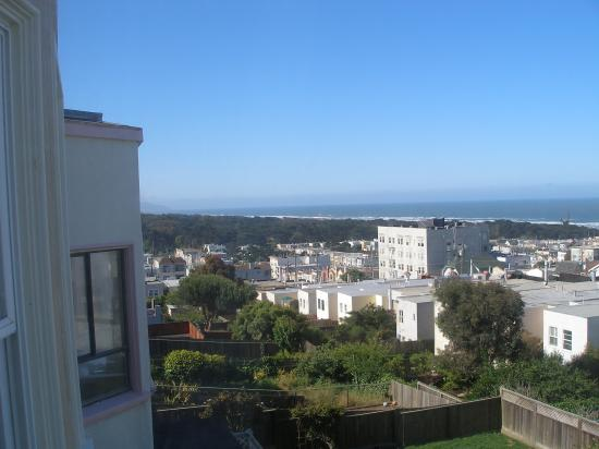 Ocean Beach Bed and Breakfast : The View from the Sitting Room