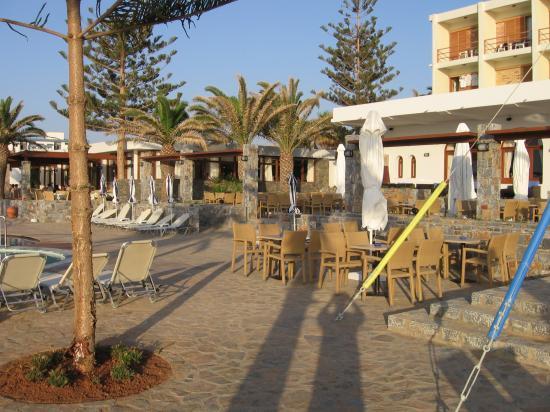 Dessole Malia Beach Hotel: Maila beach hotel - fronte mare
