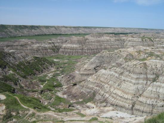 ดรัมเฮลเลอร์, แคนาดา: Horsethief Canyon