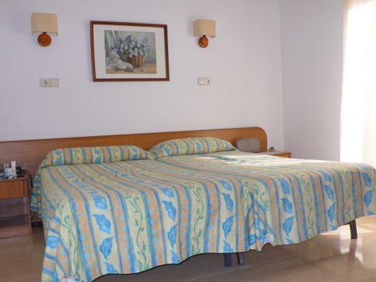 Hotel La Palmera: the room