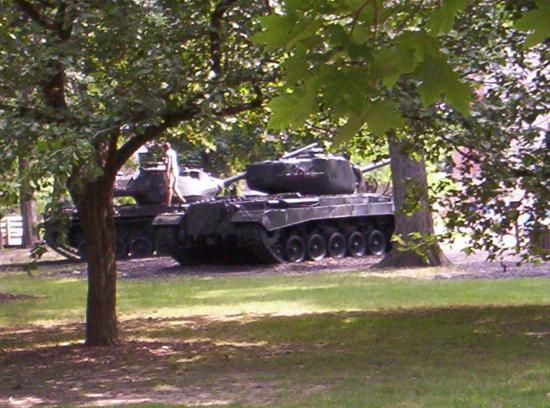 First Division Museum at Cantigny: Tank Playground