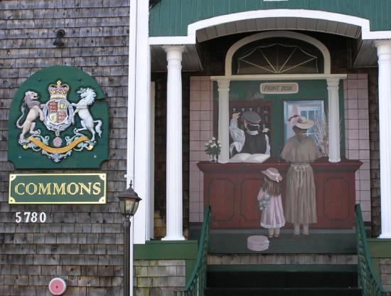 Front door of The Commons Inn in Halifax