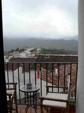 Hotel Los Castanos: Balcony View