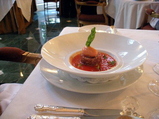 The French Room : Seared tuna apetizer