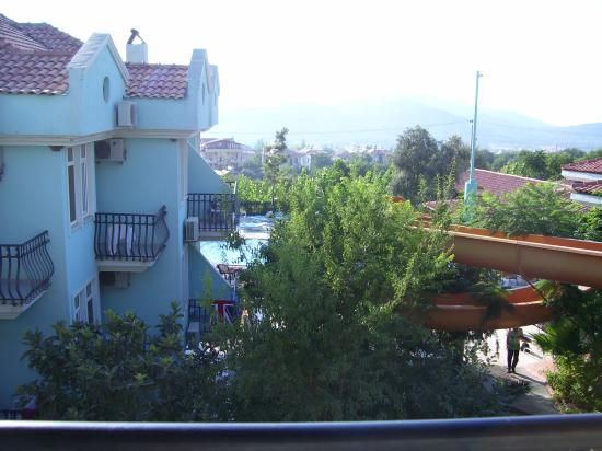 Seyir Village Hotel: view from balcony at the seyir hotel