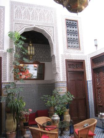 Riad Dar Cordoba: courtyard
