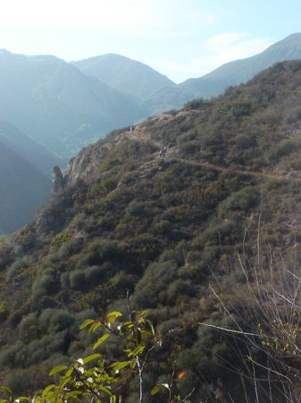 Solstice Canyon: descent