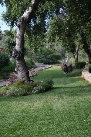 Rancho Sentosa: The hammock in the garden