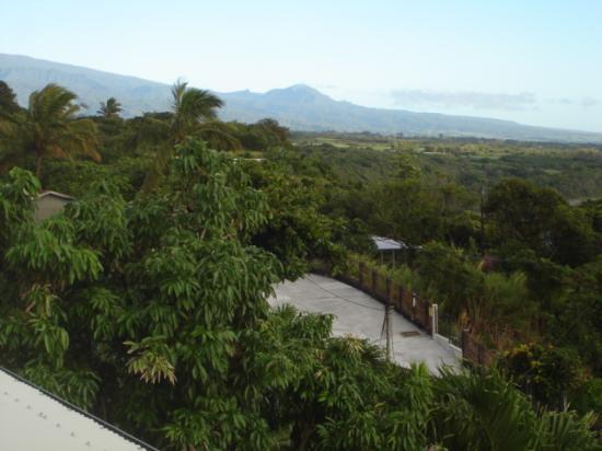 Sainte-Rose, Reunion: Autre vue depuis la chambre