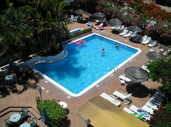 Hacienda Del Sol: Pool View