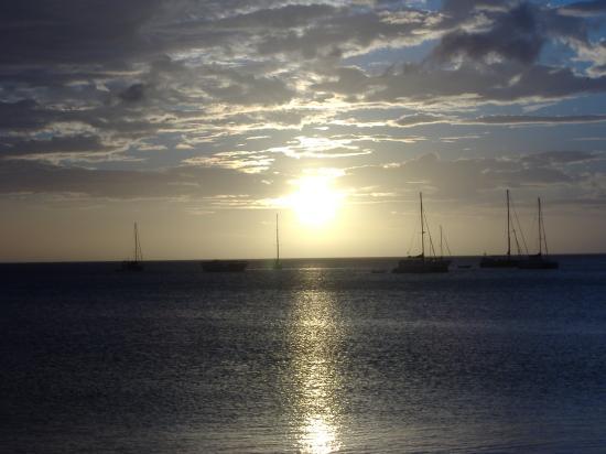 Playa El Agua, Venezuela: Sunset @ Juan Griego