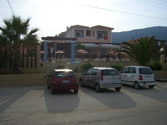 Anassa Hotel : view from beach