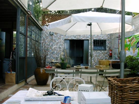 Le Stanze del Casale B&B : La terrasse