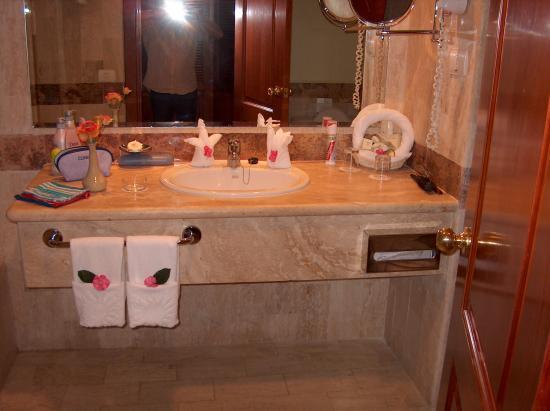 Grand Bahia Principe Bavaro: la salle de bain