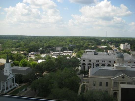 Doubletree Hotel Tallahassee: View from Room 1410