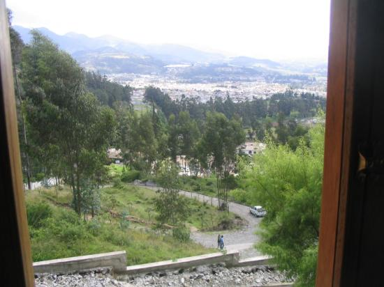 La Casa Sol Otavalo: View of countryside from hotel window