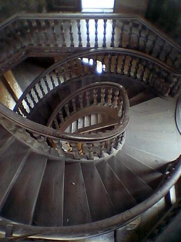 Baron Palace - Spiral Staircase