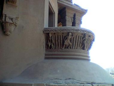 Baron Palace - small ornate balcony