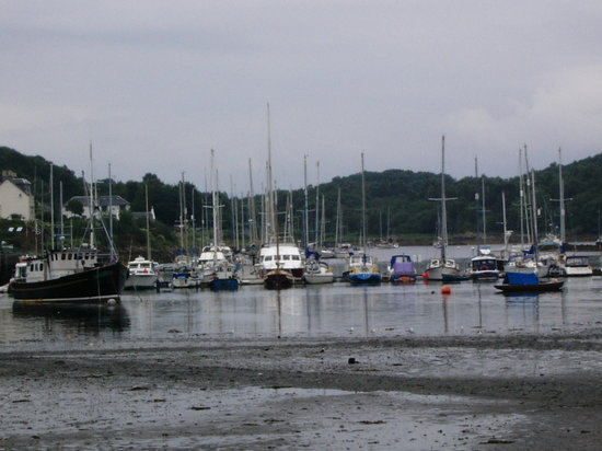 Argyll og Bute, UK: Tarbert harbour