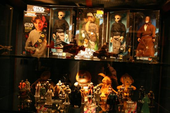 Geppi's Entertainment Museum : Special Star Wars display