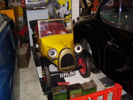 Brum From Kids Tv Picture Of Cotswold Motoring Museum Bourton