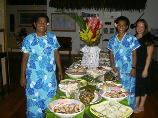 Kulu Bay Resort: Kulu Bay Ceremonial Feast