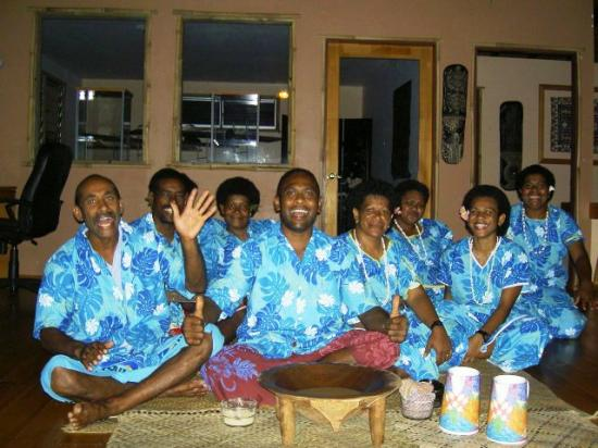 Kulu Bay Resort: Kulu Kava Ceremony