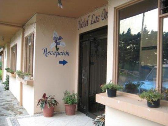 Hotel Las Orquideas: entrance
