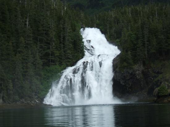Cascade Falls Picture Of Sound Eco Adventures Valdez