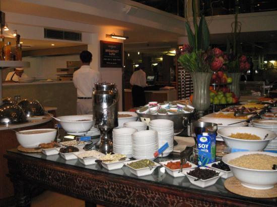 Radisson Blu Hotel Waterfront, Cape Town : Breakfast spread