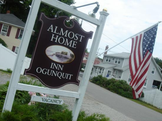 Almost Home Inn Ogunquit: The sign to paradise...Almost Home Inn