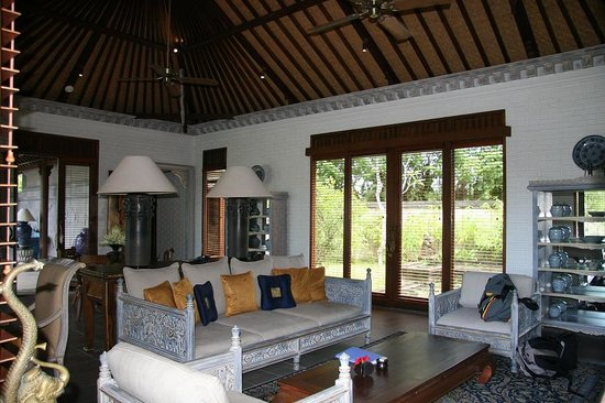 The Chedi Club Tanah Gajah, Ubud, Bali – a GHM hotel: Two-Bedroom Estate Living Room