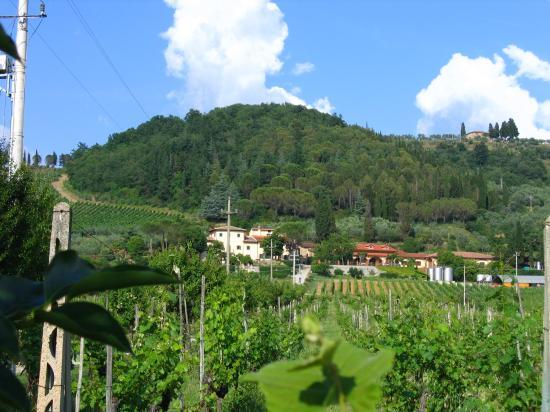 Villa Cilnia: View of the Villa