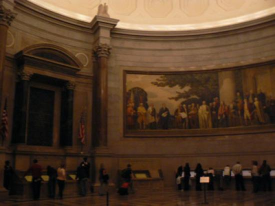Foyer Museum Washington Dc : Charter of freedoms hall picture the national
