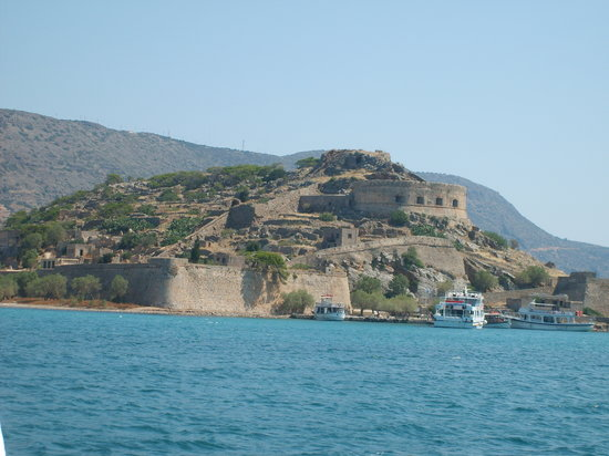 Элунда, Греция: ile de spinalongha