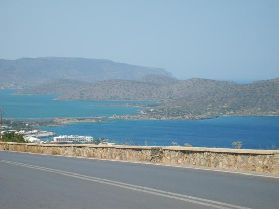 Elounda, Greece: presqu ile de spinalonga