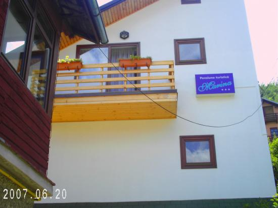 Pensiunea Marina: My room from the outside