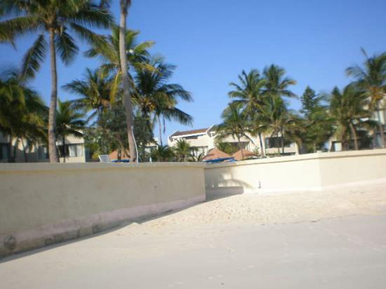Blue Water Resort on Cable Beach: side view of the beach area