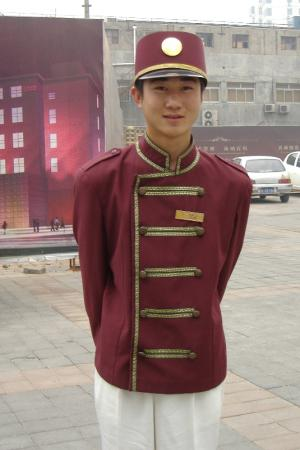 Free Comfort Holiday Hotel (Beijing Xueyuan South Road): Freindly car-park attendant / taxi-finder!