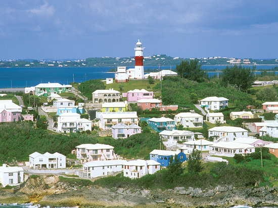 Hamilton, Bermudy: Bermuda Homes from the Air