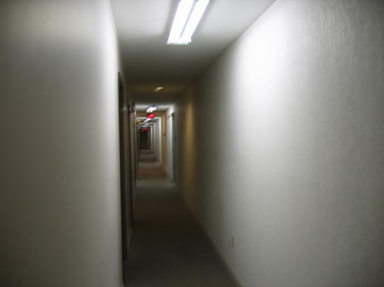 Nelson, Canadá: Motel Corridor