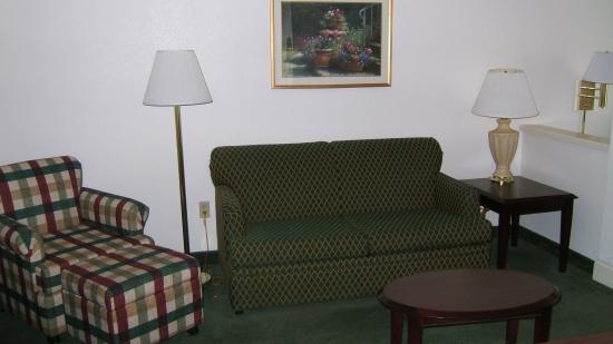 SpringHill Suites Phoenix Downtown: Sofa Area