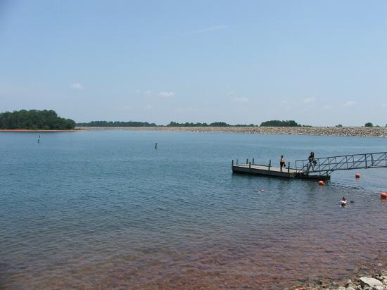 Lake Hartwell State Park: Swimming