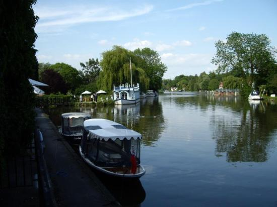 The Swan at Streatley Hotel: View from Room