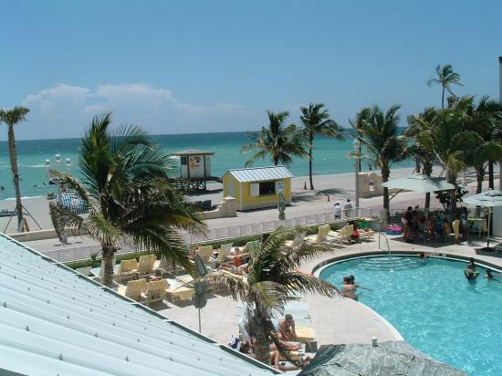Hollywood Beach Marriott: View from the room