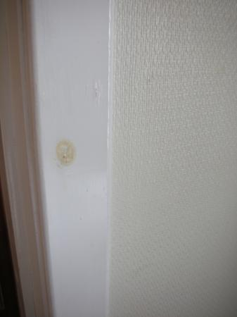 Bimini Guest House: Door Stains